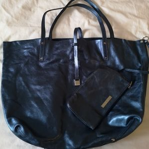 Authentic Tiffany & Co tote bag with pouch
